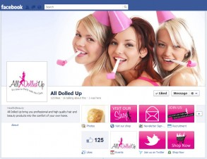 all dolled up facebook customisation