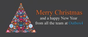 Merry Christmas and a happy New Year  from all the team at Outbox4