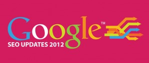 What were the major Google updates in SEO?