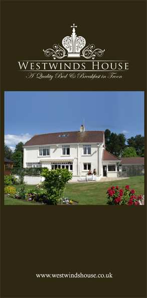 Westwind House Troon - Website design and branding