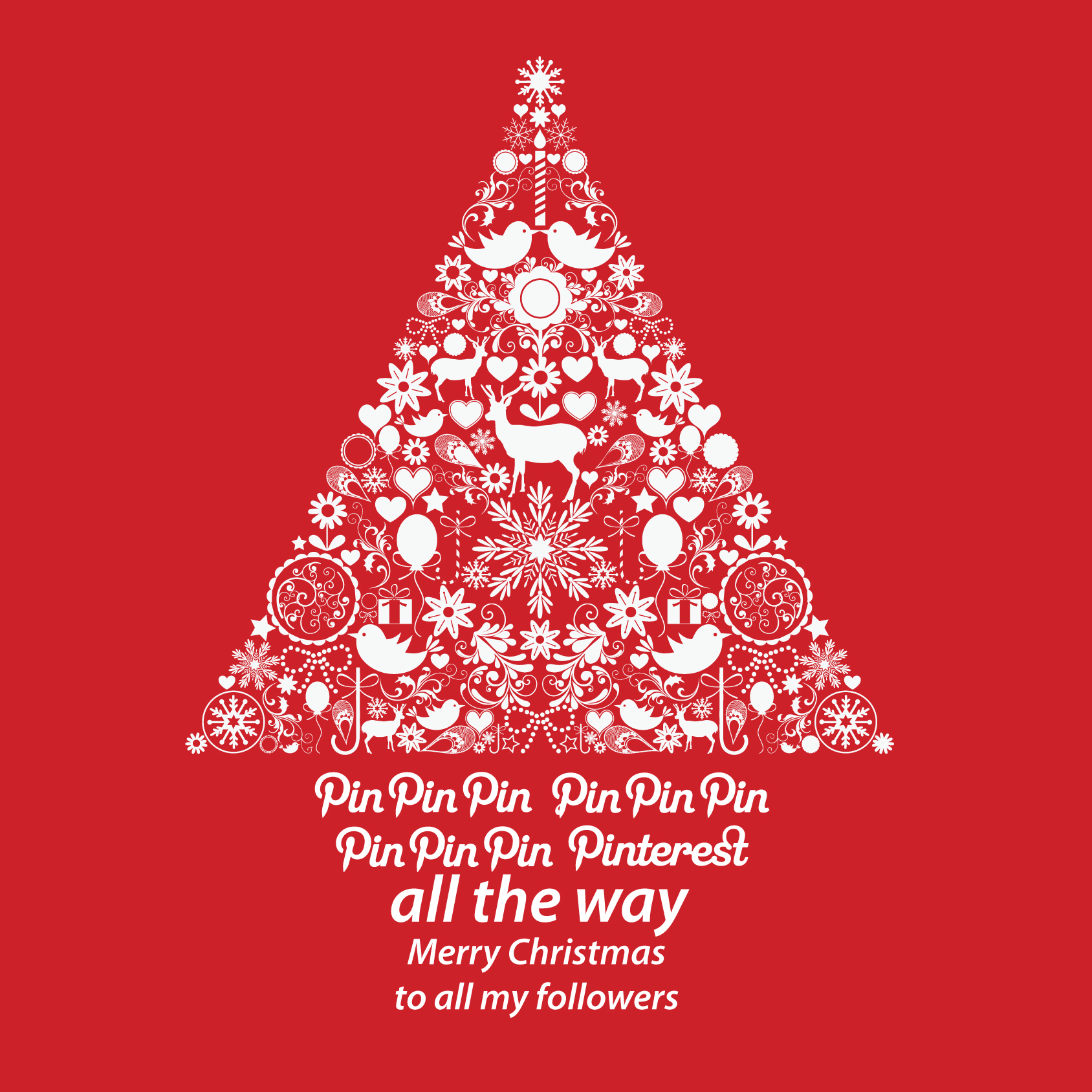 happy christmas pinterest