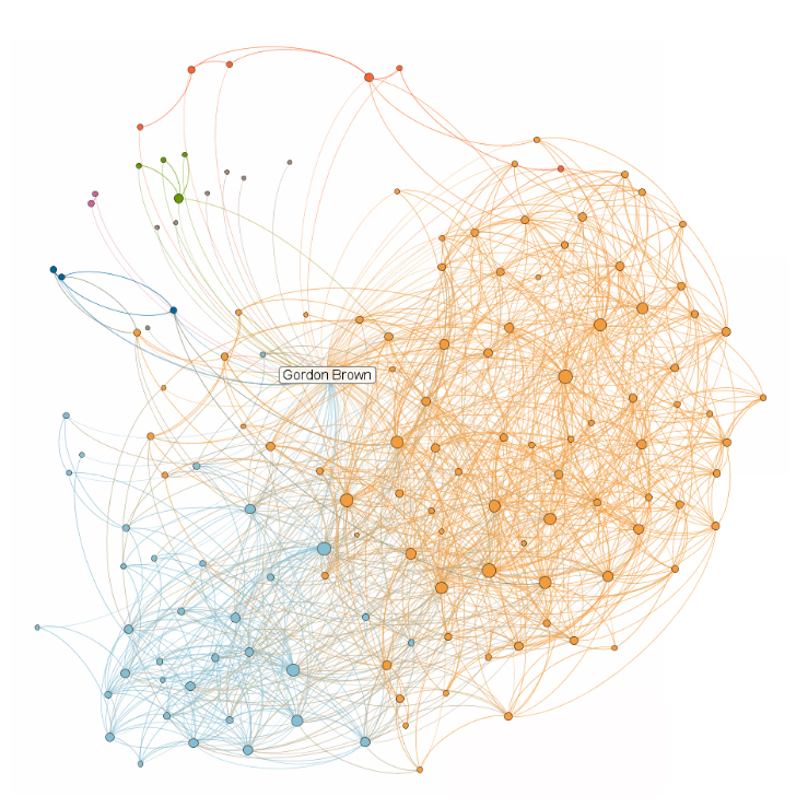 linkedin connections map